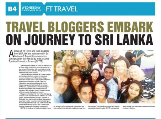 Sri Lanka News - Travel Blogger