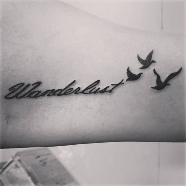 wanderlust travel tattoos