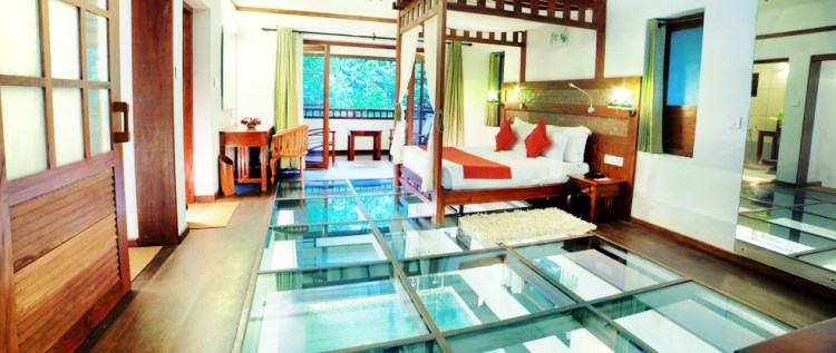 Vythiri Resort Wayanad pool suite