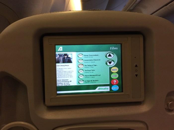 Alitalia bad service tvs