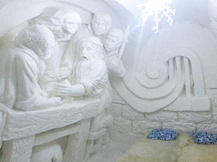 best room in the SnowCastle Lumilinna