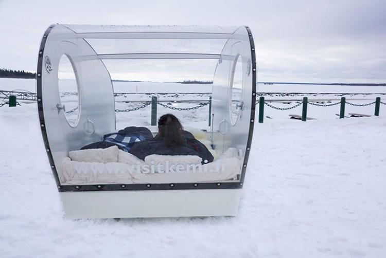 Olokolo - snowcastle kemi, finland