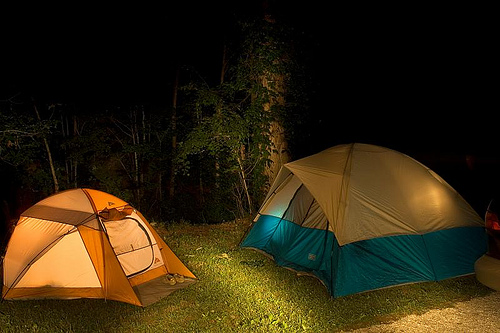 Don't Let Your Fear of the Dark Ruin Your  Camping Trip