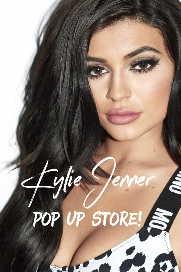 Kylie Jenner Pop-Up Shop Madness