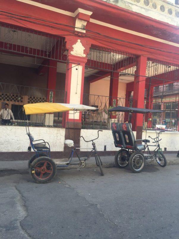 Bicycle TaxiCuba Havana