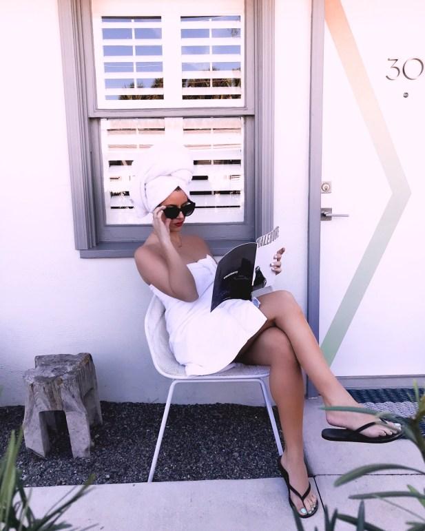 Retro Vibes - Hofit Kim Cohen - Hotel Palms, Jacksonville - Girlfriend Getaway Guide To North Florida - Road Trip