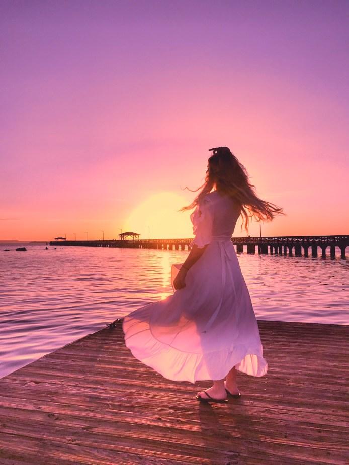 Hofit Kim Cohen sunset life - Girlfriend Getaway Guide To North Florida - Road Trip