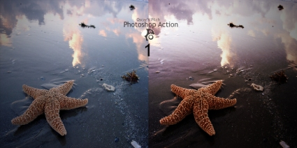 Oscar Pilch Photoshop Action