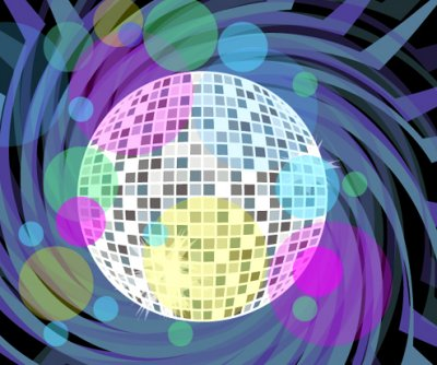 Disco ball in Ai