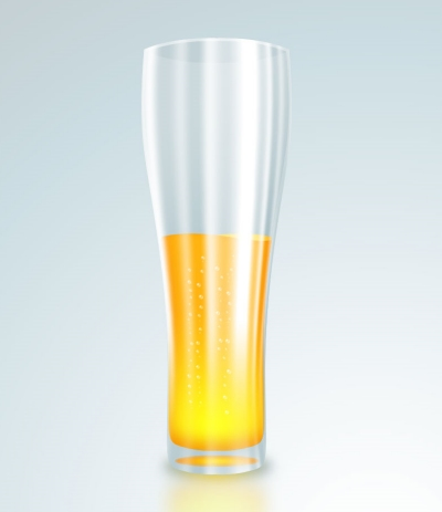 Illustrating a Glass of Beer