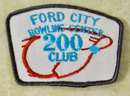 ford city bowling center patch