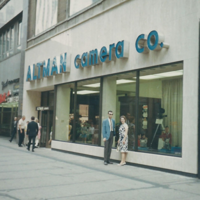 Episode 70: Altman Camera Company, Connie Szerszen of WSDM FM 98, and Evans Furrier Store in Chicago.
