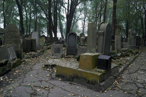 Krakow - New Jewish Cemetery