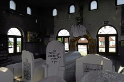 Medzhybizh - Jewish cemetery - tomb of the Baal Shem Tov