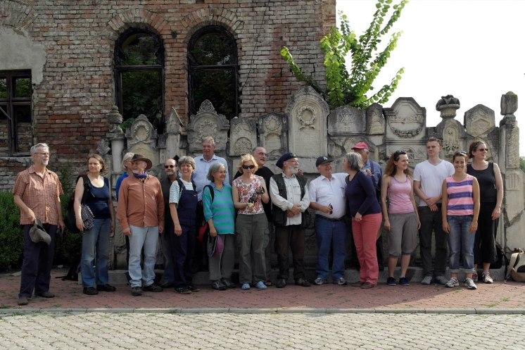 The volunteers of SVIT Ukraine and Action Reconciliation