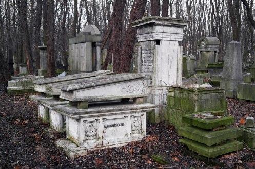 Warsaw - Jewish cemetery at Okopowa Street