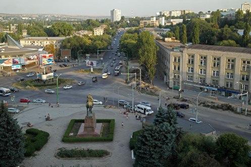 Chişinău (Chisinau) - view from Cosmos hotel