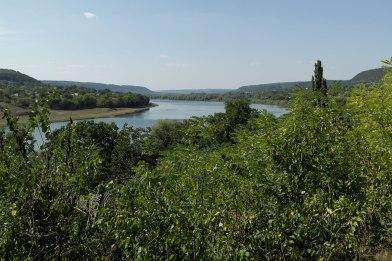 Raşcov (Rashkov) - view towards river Dniester