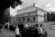 Great Synagogue in Zhovkva, Galicia, Ukraine, 2012
