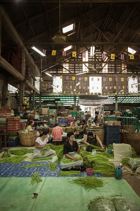 Wholesale fresh market in Yaowarat - © Philippe Besnard
