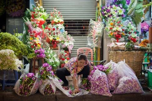 Pak Klong Talad (Flower Market) - © Philippe Besnard