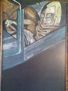 Tamara DeLimpka chalk