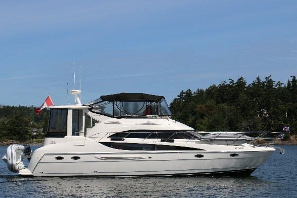 SOLD 40 Meridian 408 Motor Yacht 2004 Van Isle Marina