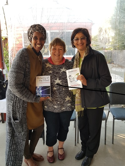 Alchemy of the Mind at Raw Garden with Vanita Dahia with Mariam Issa and Kay Dunkley