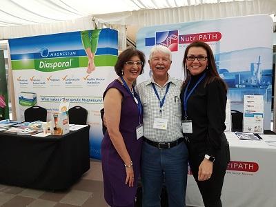 Vanita Dahia with Jodie Hooper and Stuart McD Bain at National Institute of Integrative Medicine (NIIM)