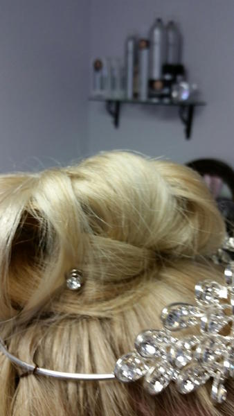 Basketweave Bridal Updo