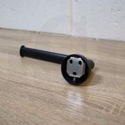 EVA-Modern-RoundOval-MATTE-BLACK-Toilet-Paper-Holder-Premium-Electroplated-253417842600-7