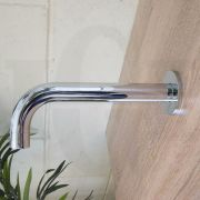 FOSCA-Round-CHROME-Designer-Gooseneck-Curved-Wall-Mounted-Spout-Water-Outlet-253297214640-6