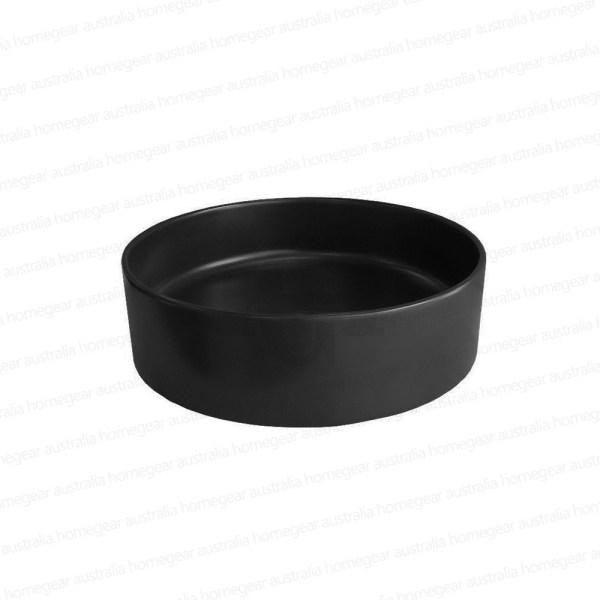 Round-MATTE-BLACK-Thin-Edge-Vessel-Counter-Top-Bench-Mount-Art-Basin-Bowl-Sink-253200487310-2