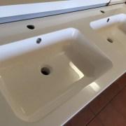ASTI-1500mm-White-Oak-Timber-Wood-Grain-PVC-THERMAL-FOIL-Wall-Hung-Double-Vanity-252931907751-2
