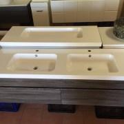 ASTI-1500mm-White-Oak-Timber-Wood-Grain-PVC-THERMAL-FOIL-Wall-Hung-Double-Vanity-252931907751-4