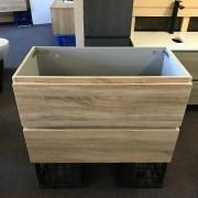 Variation-of-BOGETTA-750mm-White-Oak-PVC-Thermal-Foil-Wall-HungFreestanding-Bathroom-Vanity-252813961451-6403