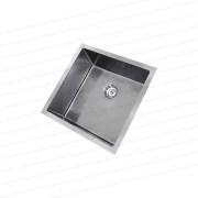 450mm-Square-Handmade-304-Grade-Stainless-Steel-Single-Bowl-LaundryKitchen-Sink-253206094302-3