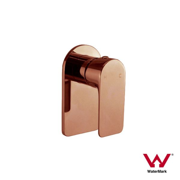 PLUSH-Rose-Gold-Square-Round-Bathroom-Wall-Mounted-Sink-Shower-Bath-Mixer-252630193142