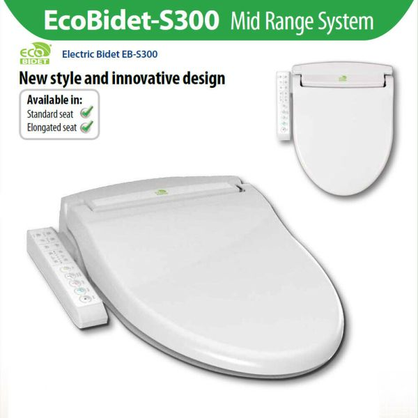 EcoBidet-S300-Warm-Water-Electric-Bidet-Japanese-Toilet-Seat-with-Side-Control-254558899003