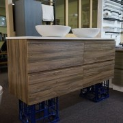 SIENA-1500mm-Walnut-Oak-PVC-THERMAL-FOIL-Timber-Wood-Grain-Vanity-w-Stone-Top-252951314753-5