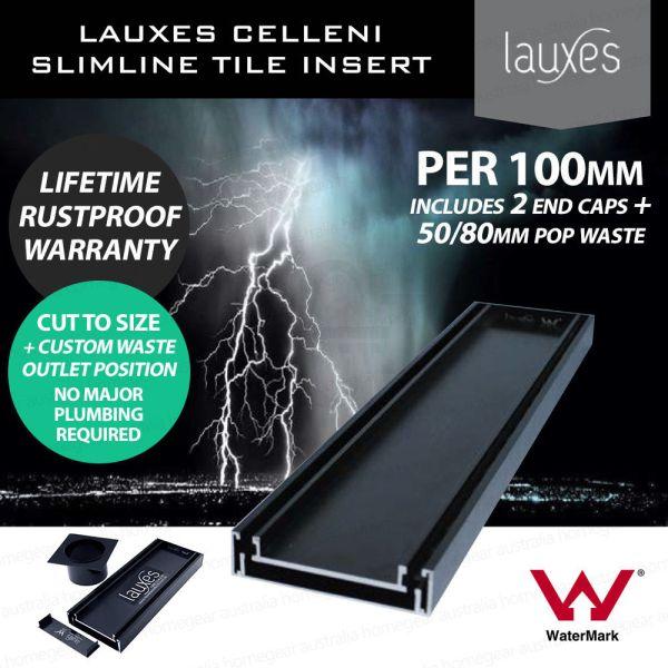 LAUXES-Custom-Length-Black-Slimline-Strip-Floor-Linear-Tile-Insert-Waste-p100mm-253463972404