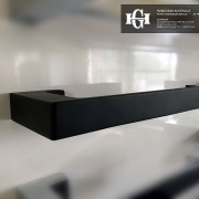 NEW-MODERN-Square-Matte-Black-Metal-TOILET-PAPER-HOLDER-Bathroom-Accessories-252510994294-2