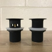 PREMIUM-ELECTROPLATED-Matte-Black-40mm-Pop-Up-BathSink-Plug-Waste-wwo-OVERFLOW-253067002245-2