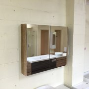 Mirror-Shaving-Cabinet-w-Timber-Wood-Grain-Side-Panels-60075090012001500mm-252826440446-5