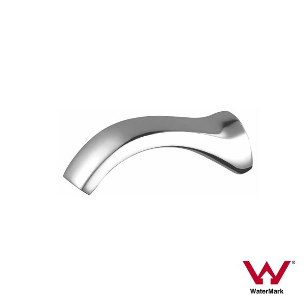 Premium-Grade-Curved-Round-CHROME-Wall-Spout-Water-Outlet-for-Bath-Sink-Basin-AU-252975108426