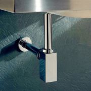 Square-32mm-Polished-Chrome-Basin-Sink-Bottle-Trap-P-trap-Waste-Drain-253447905846-3