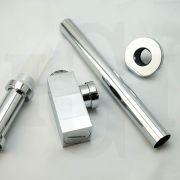Square-32mm-Polished-Chrome-Basin-Sink-Bottle-Trap-P-trap-Waste-Drain-253447905846-9