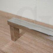 Square-Polished-Chrome-Hand-Held-Sliding-Shower-Rail-Set-w-Adjustable-Wall-Inlet-253355994246-10
