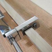 Square-Polished-Chrome-Hand-Held-Sliding-Shower-Rail-Set-w-Adjustable-Wall-Inlet-253355994246-6