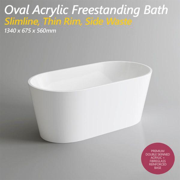13001400mm-Oval-Slim-Acrylic-Freestanding-Bath-Tub-w-Side-Waste-1340x675x560-253379671977